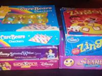 Various kids games. Very good condition. For $5.00