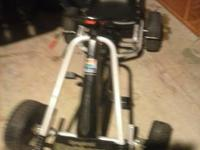 I have a kids go cart was ridden once is like new