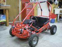 A real cool Kids go-cart, This cart runs great. It has
