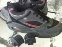 I have a pair of youth size 3 heely skate shoes. First