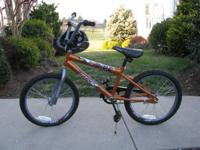 "For sale is a Boys Huffy Rockit Bicycle 16 or 20"" with"