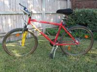 Kids 21 Speed Ironman Bicycle. 24 inch crossbar. Great