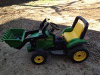 motorized john deere tractor and gator. in great