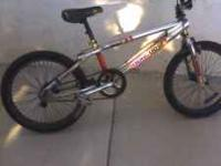 HI I HAVE A MONGOOSE KIDS MOUNTAIN BIKE THE TIRTES ARE