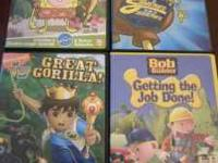 Four childrens DVD's. In perfect working condition.