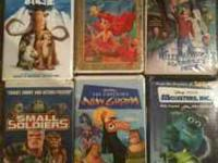 selling a few movies that my kids have out grown and