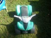 Four wheeler riding toy $5, Dolphin swing need to rope