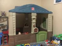 A great kids playhouse a perfect size for kids to have