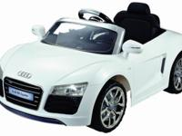 Audi R8 Spyder Licensed Ride On Car with Remote