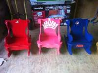 I have several handmade wooden rocking chairs for sale