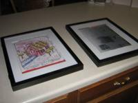 2 Picture frames to show off your kids'/grandkids art