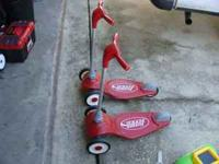 I have for sale 2 Radio Flyer My 1st Scooter. They are