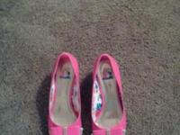 Girls pink shoes in size 2 Liv Maddie has only been