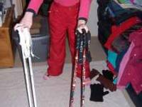 I have two pairs of kids ski poles. One pair are