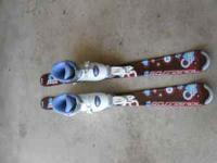 Kids Rossignal Skis with bindings and boots Fits kids