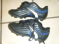 Kids Soccer Cleats/Shoes. Used once. High Five