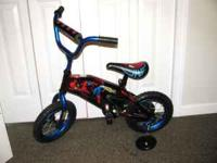 Kids Spiderman bike. Son never really rode it.