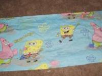 I am selling a Sponge Bob curtain and comforter set in