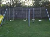 Great for the kids and the back yard. You remove and