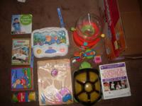 for sale used Kids Toy's , DVD and Books very cleaning
