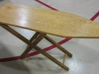 Description: Kids toy wooden ironing board This is a