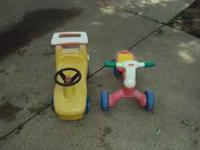 k i have for sale is 2 kids toys. i am asking 15 obo