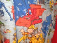 offering a Bob the Builder Twin sheet set with