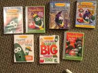 Vegetable Tales DVDs. My boy gettings outgrown