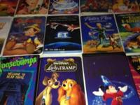 All kids movies in good working condition $1.00 each