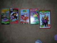 Lot of younger kids VHS Tapes. Dora's Halloween, Dora's
