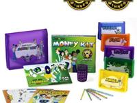 For sale is one (1) KIDS WEALTH MONEY KIT HELP YOUR