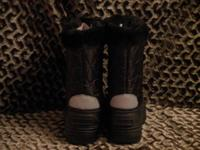 KIDS WINTER BOOTS !! SIZE 2!! School age kids. Color -