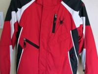 Spyder Jacket in youth size 14 is in GREAT condition