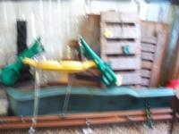 WOOD KIDS PLAY SET, HAS SLIDE, CANOPY FOR SHADE,