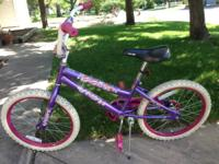 Offering a made use of Huffy ladies bike - it's pink