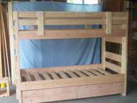 Kids bunk bed, complete, you assemble, kids outgrew it,