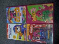 Kid DVDs Gently Used Good Condition Titles: Baby Genius