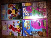 Kid DVDs Gently Used Good Condition Titles: Elmos