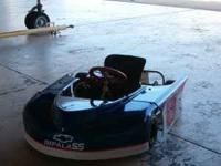 Selling a Kids Go Kart - This kart was a big race