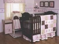 Kidsline baby bedding Julia. 6 piece set includes