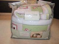 Original set was 6 pieces (quilt, crib 4- sided bumper,
