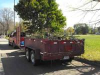 "2001 Kiefer Dump Trailer. Dump box measures 80""x12' and"