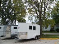 Kiefer Kruiser 2 horse bumper pull trailer, Empty