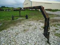 Kilderman rake hitch to pull two side delivery hay