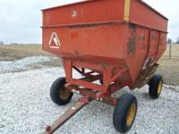 I have a Killbros 275 bushel gravity flow wagon with a