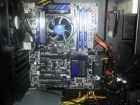 CPU- i7 4790 3.6ghz RAM- 16 GB DDR3 (max 32 gb)