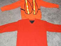 Great deal 2 Hunting shirts both orange 1 is a GAP
