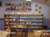 For Sale Cress Kiln and Enough pottery/ceramics to get