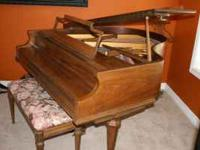 I am selling our Kimball Baby Grand Piano 5' Medium Oak
