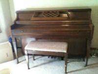 Kimball Console Piano for sale. $700 obo! Beautiful